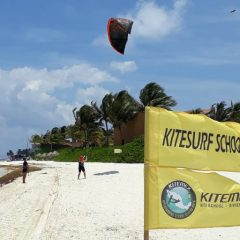Kitemex Kiteboarding - Kite School Cancun Mexico - Punta Maroma